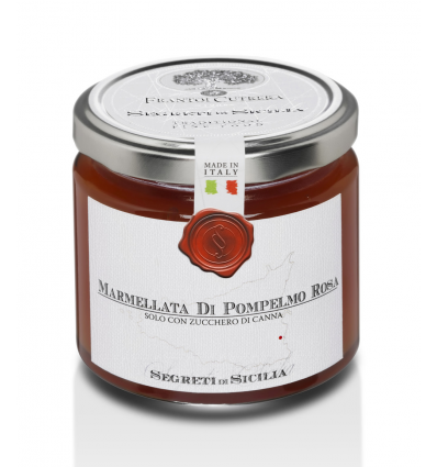 Marmellata di pompelmo rosa (Cutrera) - Segreti di Sicilia