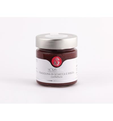 Confettura extra di fragoline di Sciacca e Ribera (Scyavuru)
