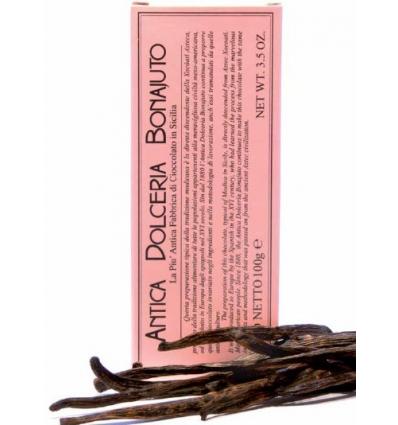 Cioccolato di Modica con vaniglia (Dolceria Bonajuto)