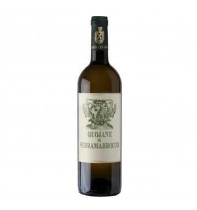 Quojane di Serramarrocco Sicilia IGT - Vino Bianco Zibibbo
