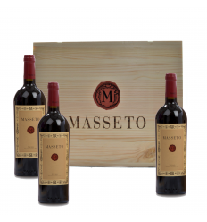 Masseto - Toscana Rosso IGT 2014 - Tenuta Masseto - 3 bottiglie