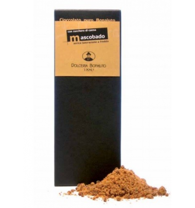 Cioccolato di Modica con zucchero di canna Mascobado (Dolceria Bonajuto)