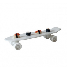 Vassoio My skateboard bianco (Seletti)